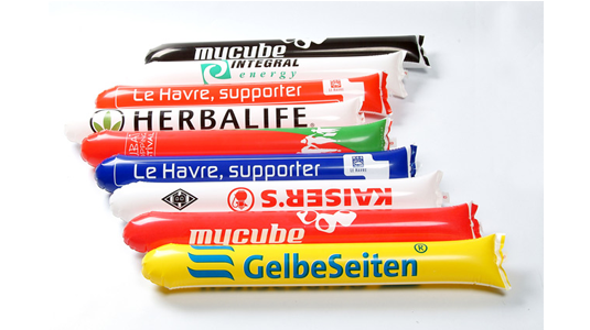 Tap-Tap Batons de supporter gonflables